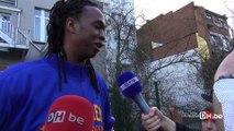 Les Harlem Globe Trotters en visite dans une école de Bruxelles