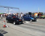 Renault 5 Alpine Turbo Vs. Fiat Punto GT Turbo Drag Race