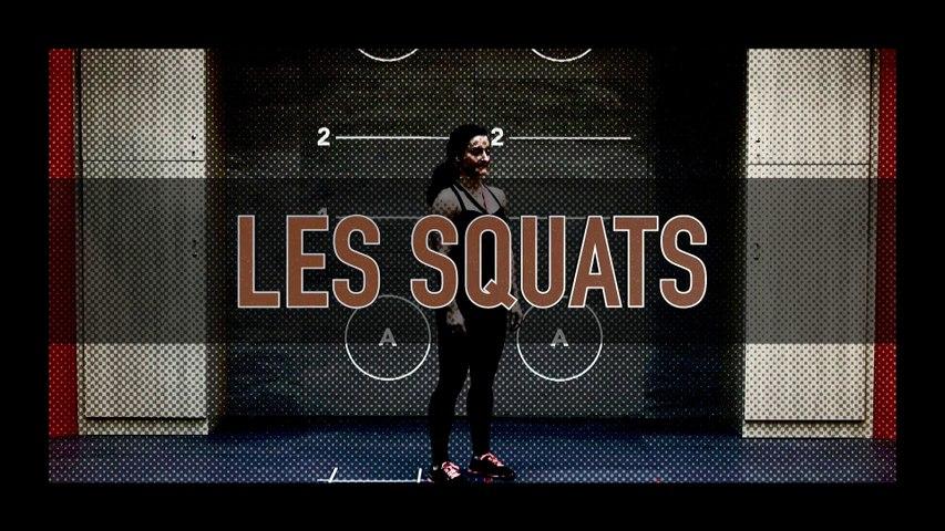 Comment faire des squats - 3 variantes (TUTO)