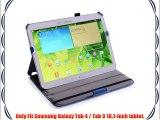 Coodio? Samsung Galaxy Tab 3 10.1-Inch funda de cuero modo de suspensi?n con soporte integrado