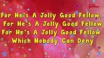 For hes a jolly good fellow | Karaoke Rhymes