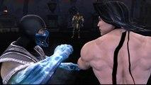 Mortal Kombat VS DC Universe [Xbox 360] - ✪ Liu Kang Vs Scorpion ✪   Full HD