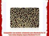 MacBook Pro 15 con Retina Caso Funda TECOOL? Ultra Delgado Multi Colores Suaves al Tacto Duro