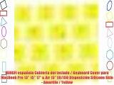 MiNGFi espa?ola Cubierta del teclado / Keyboard Cover para MacBook Pro 13 15 17