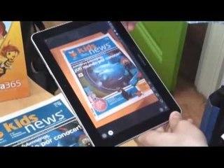 Kids News- Cómo utilizar Realidad Aumentada