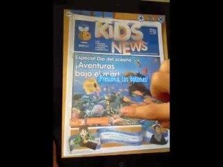 ¡Realidad Aumentada en Kids News!