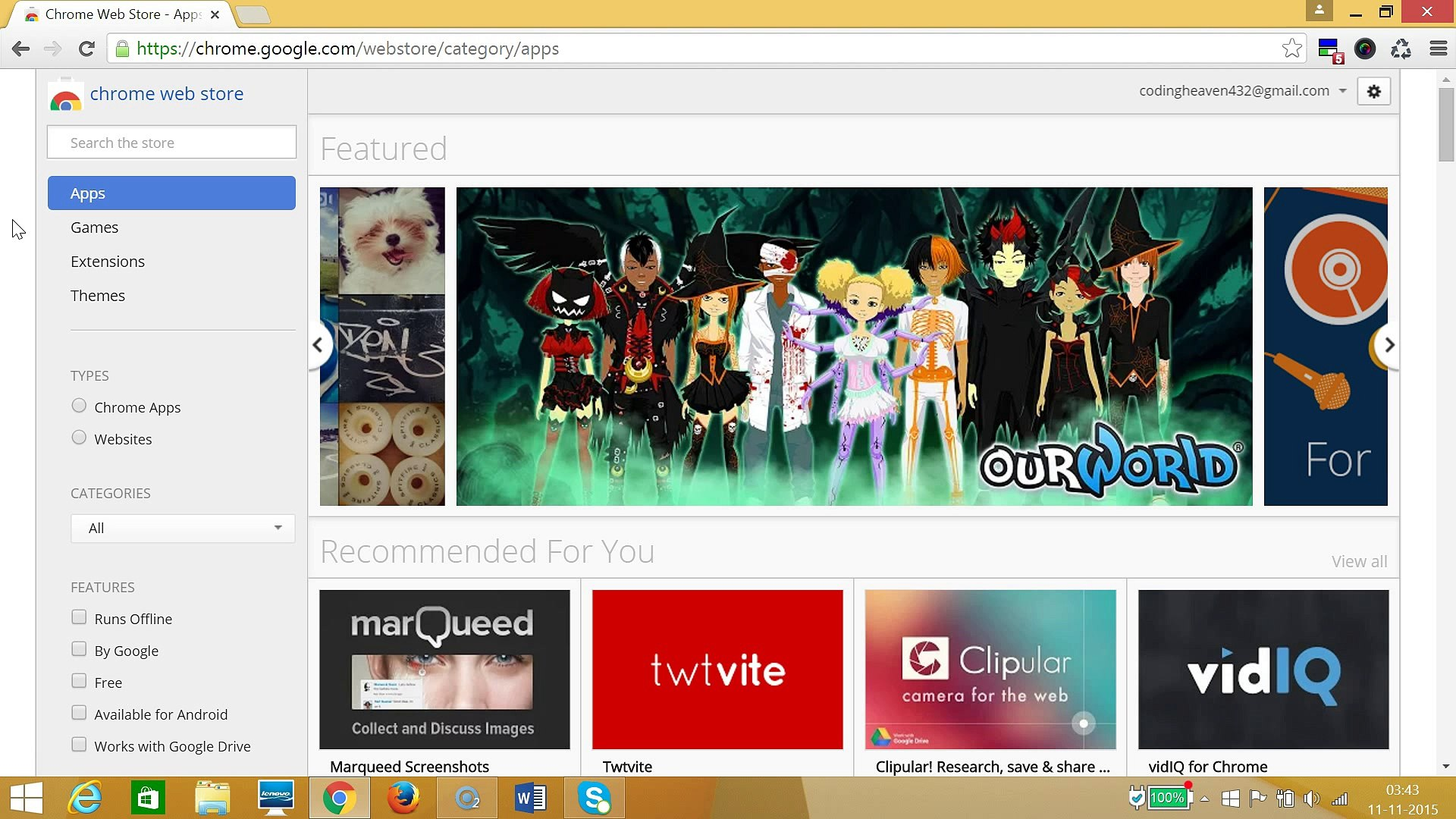 How To Install Extensions In Google Chrome Via Chrome Webstore