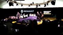 Révélation de la Renault F1 RS16 au Technocentre