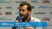 Salon des Entrepreneurs - Nicolas ROHR, Co-fondateur - Faguo
