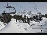 Ski neige février - Hiver