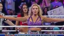 Brie Bella vs Charlotte Full Length Match WWE RAW 1-2-2016
