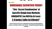 Grow Taller 4 Idiots  Find out How a 26 Year Old Male Went from 5'7 to 5'11 After Puberty