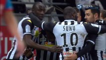 0-1 Arnold Bouka Moutou Goal France  Ligue 1 - 03.01.2016, Stade Reims 0-1 Angers SCO