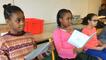 Des CM2 enregistrent un livre pour les maternelles