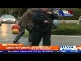 Cinco detenidos en Bélgica por ataque en París: siguen la pista de los carros usados del atentado
