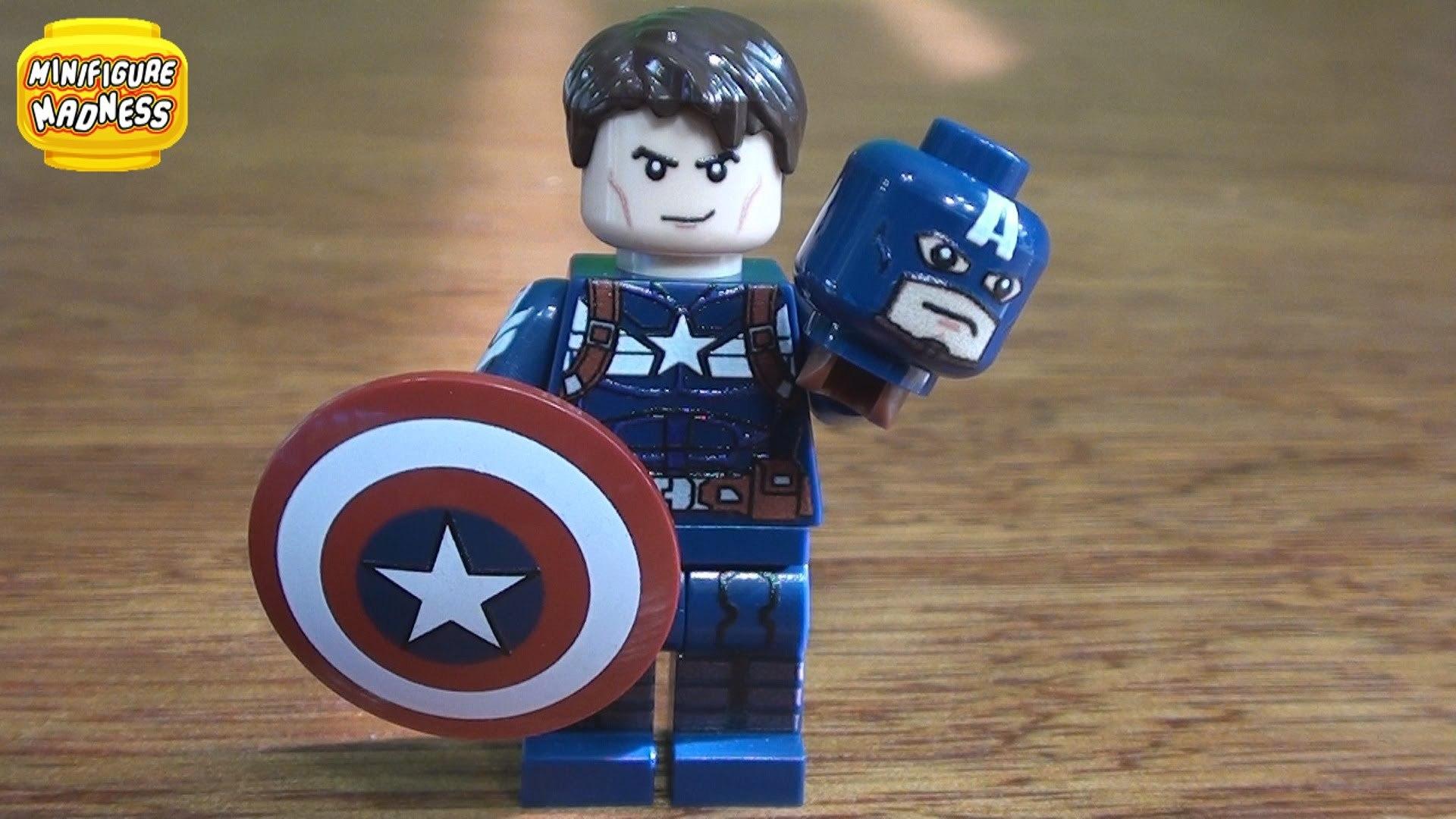 LEGO Marvel's Avengers {PC} прохождение часть 30 — ЛЕГО Капитан Америка Зимний Солдат