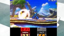 Super Smash Bros 3DS Demo - Mega Man, Pikachu, and Link