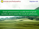Napoleon Hill Quotes - 50 Top Quotes - Quotes from Think and Grow Rich and the Law of Success