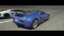 Bugatti Veyron vs Lamborghini Aventador ( Bugatti Veyron contre Lamborghini Aventador)