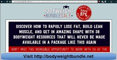 Bodyweight Bundle - Is This Bodyweight Exercise Sale Legit?