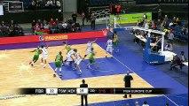 #5 Parrish Brown 9p, 6assist 4 reb 1stl , #21 CJ Leslie 20p, 12 reb Tsmoki-Minsk (BLR)86 vs AEK (CYP)84  - FIBA Europe Cup