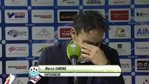 Réactions des entraîneurs après Bourg Péronnas - Tours FC