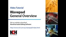 WavePad Audio Editing Software | Introduction
