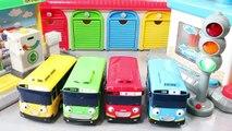 타요 꼬마버스 타요 주유소 차고지 세차장 장난감 Tayo the Little Bus Toy