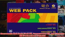 PDF] Macromedia Web Pack: Flash MX, Dreamweaver MX, and Fireworks MX