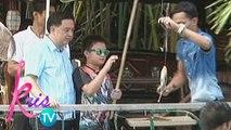 Kris TV: Bimby goes fishing