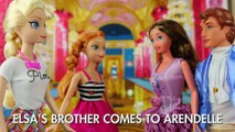 It's Frozen Elsa's Brother! He Comes to Arendelle after Jack Frost Finds Him. DisneyToysFan