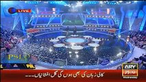 Very funny talk between Waseem badami and Umar shareef in har lamha purjosh