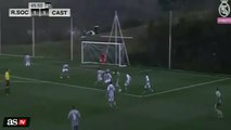 Enzo Zidane does his dad's trademark roulette to earn Real Madrid Castilla a decisive penalty (Latest Sport)
