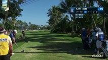 Sweet Swinging Si Woo Kim Nice Golf Shots 2016 Sony PGA Tour