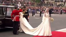 Kate Middleton Wedding | Catherine Middleton arrives at Westminster Abbey