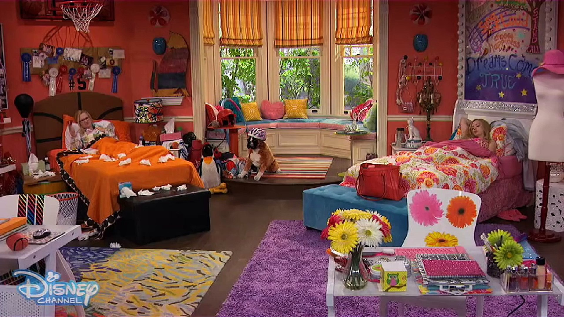 Liv And Maddie Twin Sickness Disney Channel Official