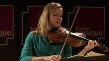 Bach : Partita n°3 Gavotte en rondeau par Deborah Nemtanu | Le live de la matinale