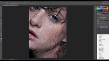 Photoshop Tutorials Photo Effects -  How to Remove Acne in Photoshop  CS6