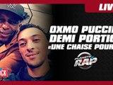 """Demi Portion feat. Oxmo Puccino """"Une chaise pour 2"""" en live dans Planète Rap!"""