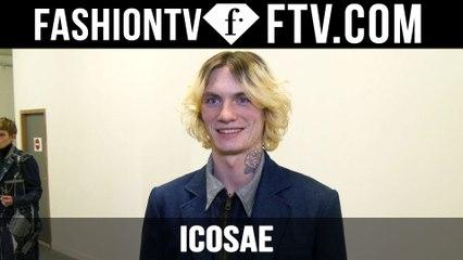 Icosae F/W 16-17 Backstage | Paris Fashion Week : Men F/W 16-17 | FTV.com