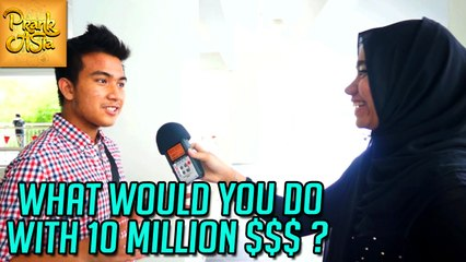 What Would You Do With Ten Million Dollars | Prank Asia