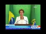 Camioneros realizan bloqueos en carreteras de Brasil por aumento en precios de combustible