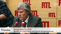 Stéphane Le Foll : un homme en colère