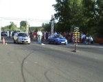 Subaru Impreza WRX STI Vs. Subaru Impreza WRX STI Drag Race