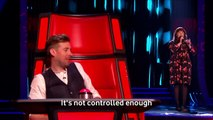 Heather Cameron-Hayes performs 'Life On Mars' - The Voice UK 2016- Blind Auditions 4