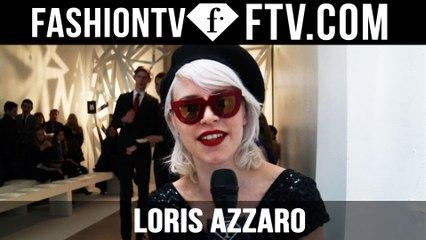 Loris Azzaro Front Row | Paris Haute Couture S/S16 | FTV.com