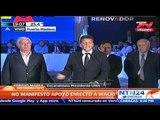 """Massa evitó dar apoyo público a Macri y pidió a los argentinos impulsar un """"cambio"""""""