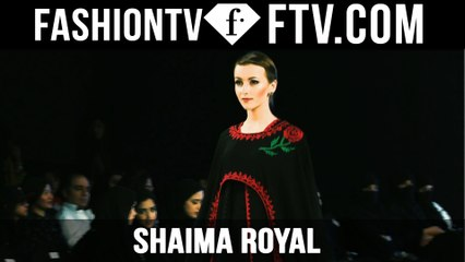 Shaima Royal at Mercedes Benz Fashion Week Doha 2015 | FTV.com