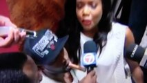 Gabrielle Union Interviews Miami Heat Guard Dwyane Wade Postgame 7 - 2013 NBA Win!