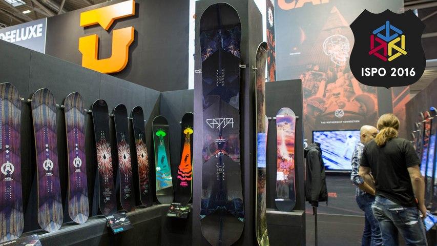 Capita Warpspeed   Best New Snowboards ISPO 2016